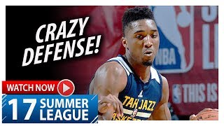 Donovan Mitchell Full Highlights vs Grizzlies (2017.07.11) Summer League - 37 Pts, 8 Steals!