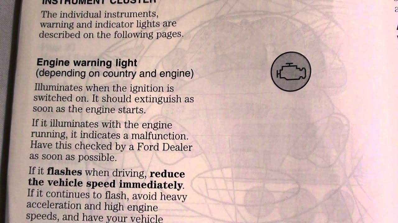 Ford Focus Engine Warning Light Symbols Centralroots