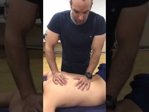 Facebook live Sports Massage