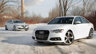 2014 Audi A6 TDI vs. 2014 BMW 535d xDrive