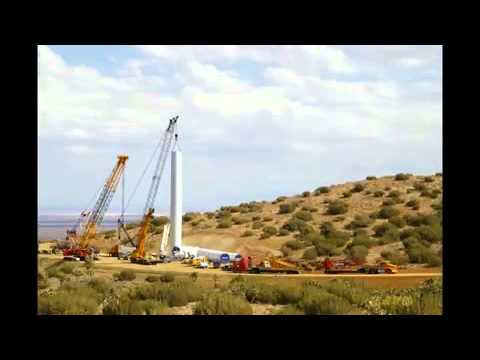 Składanie turbiny wiatrowej