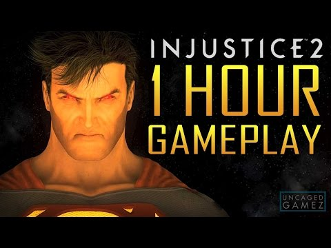 1 Hour of Injustice 2 Gameplay in 1080p 60fps!
