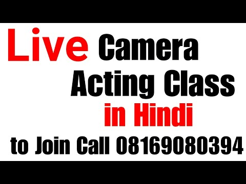 Live Camera Acting Class with our Students at Lets Act Actor Studio Mumbai | Mr.Deva Suman