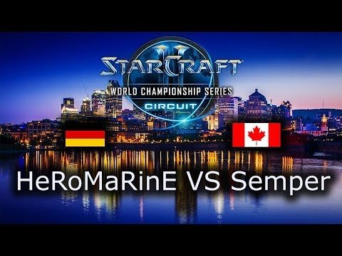 HeRoMaRinE VS Semper - TvT - Ro16 - WCS Montreal 2018 - polski komentarz