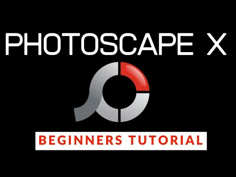 PhotoScape X Beginners Guide - FREE Photoshop Alternative