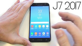 samsung galaxy j7 2017 quick review    hands on    in hindi