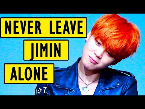 When you leave Jimin alone