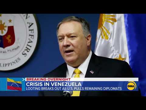 US Diplomats Pulled From Venezuela