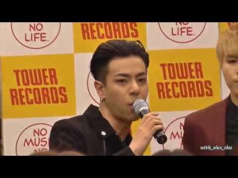 160724 HIGH4 Shibuya TOWER RECORDS 2部 SAY YES  ♥ Alex focus ♥