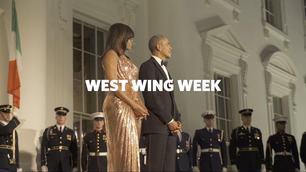 """West Wing Week 10/21/16 or, """"Buongiorno!"""""""