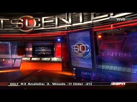 ESPN / ESPN+ Sur   Cierres de SportsCenter + Inicio de publicidades + Bumper (2013).