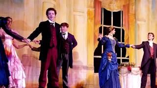 Театр  в США. Американские дети на сцене. Мой сын в мюзикле.
