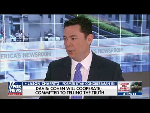 Chaffetz: 'Highly Suspicious' That Longtime Clinton Ally Is Representing Michael Cohen