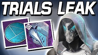 Destiny 2 - TRIALS OF THE NINE LEAK ITS COMING !!