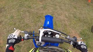 FIRST RIDE ON A 2018 YZ85 AT DURHAMTOWN