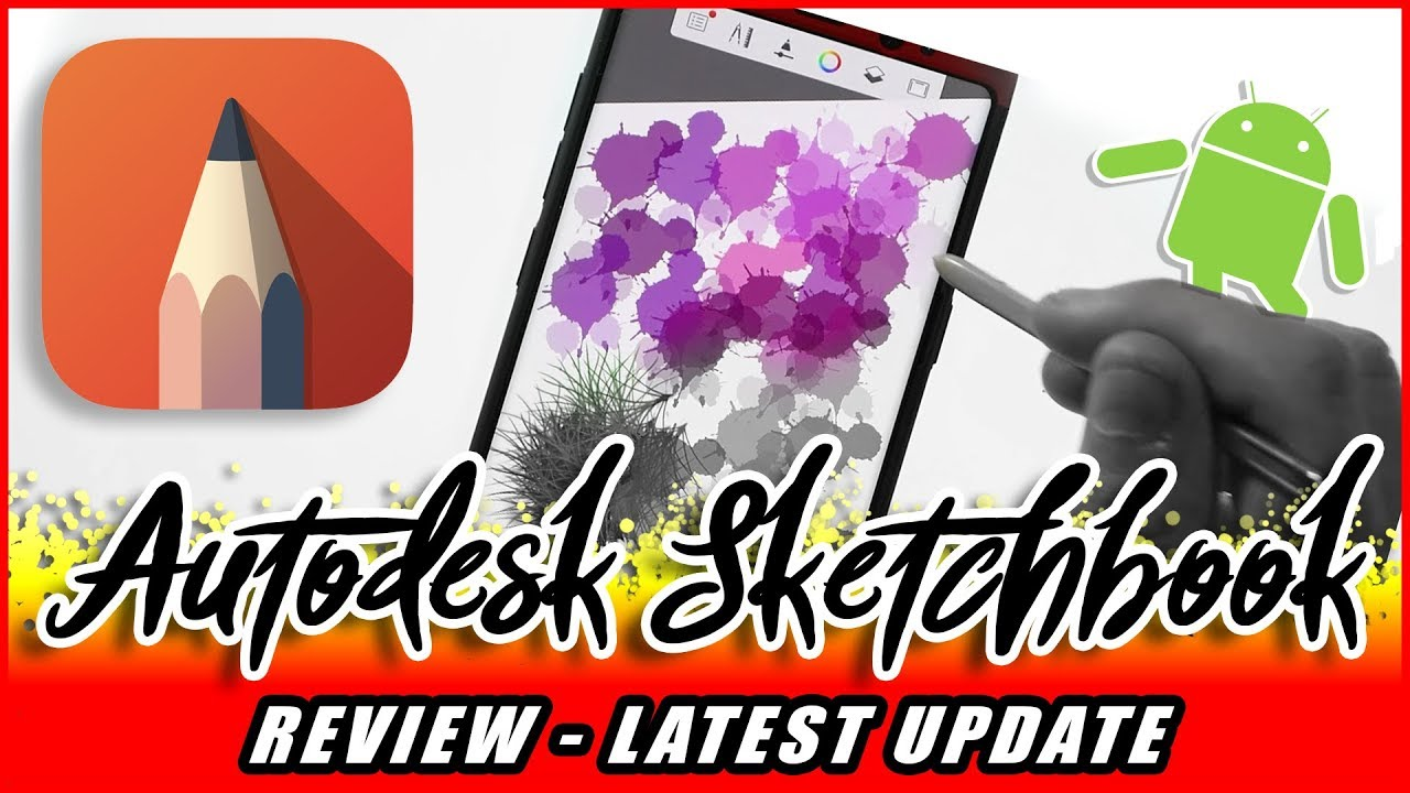 Autodesk Sketchbook Android Review Protool Update 4, Best drawing app?