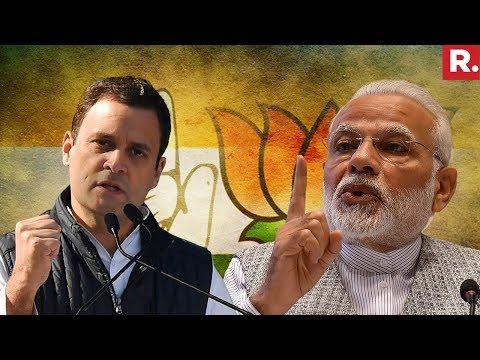 BJP Vs Congress On 4 Years Of Modi Government