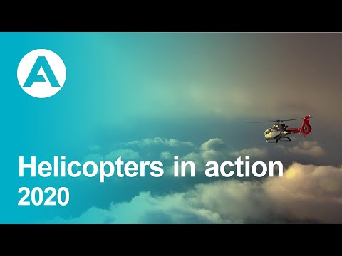 Helicopters in action 2020