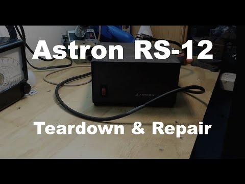 Astron RS-12 Power Supply Teardown and Repair... Kind of.