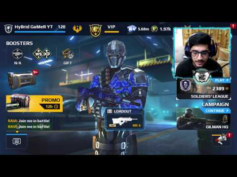 Modern Combat 5 PC - The KOG IS BACK!!! - LIVE!#47
