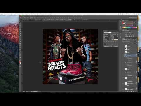 How to edit a Mixtape Template from Mixtapepsd