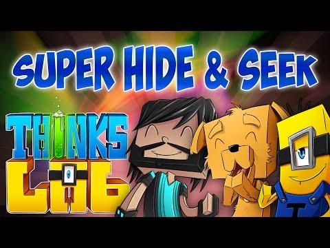 SUPER HIDE AND SEEK!! | Think's Lab Minecraft Mods [Minecraft Roleplay]