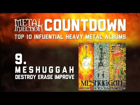 9. MESHUGGAH Destroy Erase Improve - Top 10 Influential Heavy Metal Albums Metal Injection