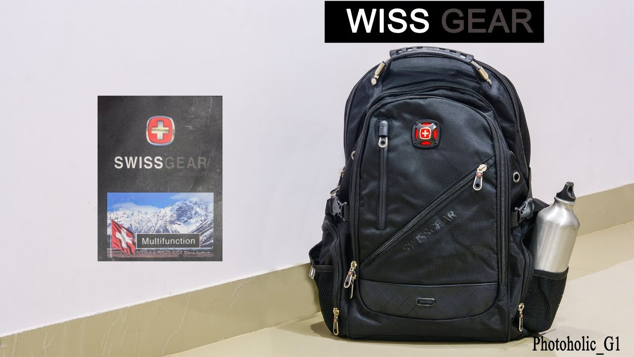 swiss gear backpack wenger youtube