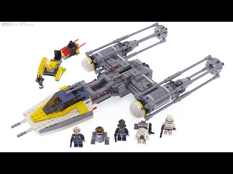 LEGO Star Wars Y-Wing Starfighter review! 75172