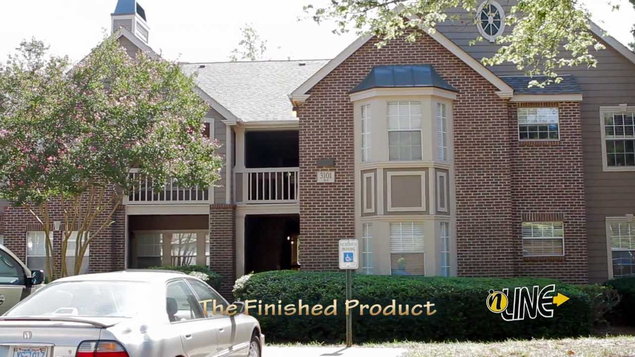 Nc Apartment Renovation Commercial Contractor Job At The Apartments At Radbourne Lake Video