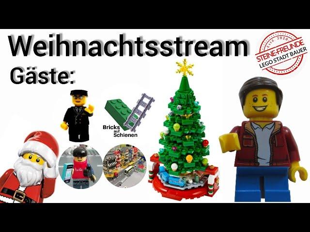 Weihnachtsstream mit der Stadt-Bauer Community