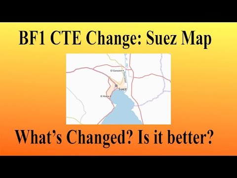 Battlefield 1 CTE: Changes To The Map, Suez. Are They For The Better? (60 FPS)