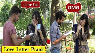 I Love You Prank   Love Letter Gone Wrong   Achi Lagti Ho   Prank in Pakistan   India   Crazy Prank
