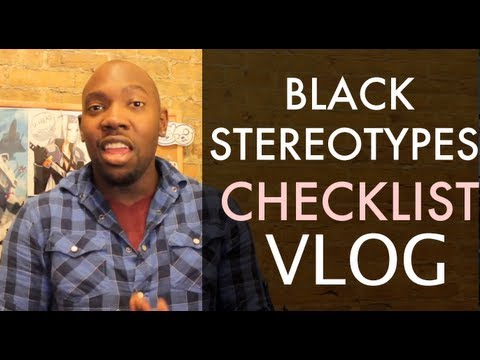 BLACK STEREOTYPES Checklist | List - YouTube