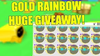 [Roblox] Pet Simulator: GOLD DOMINUS HUGE GIVEAWAY! (BEST PET GIVEAWAY) *DUPE GLITCH*