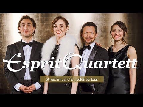 Esprit Quartett - Streichmusik für Ihre Hochzeit!