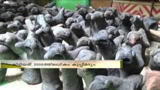 Alcohol offering at a temple in Idukki Theni : ശനീശ്വര  ക്ഷേത്രത്തില് വഴിപാടായി മദ്യം