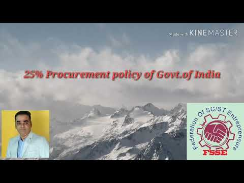 25% Procurement Policy For MSME #MSME #Procurementpolicy #FSSE