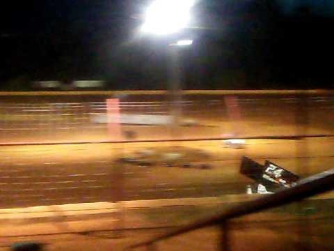 Flomaton speedway 4/14/17 USCS Sprintcar practice #1
