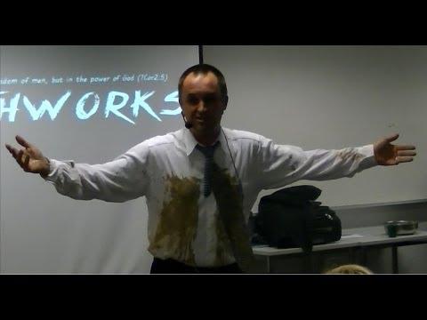 The messy sermon