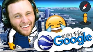 Google Earth VR | Funny Sightings | LEAVE THE HOUSE WITHOUT LEAVING Free HD Video