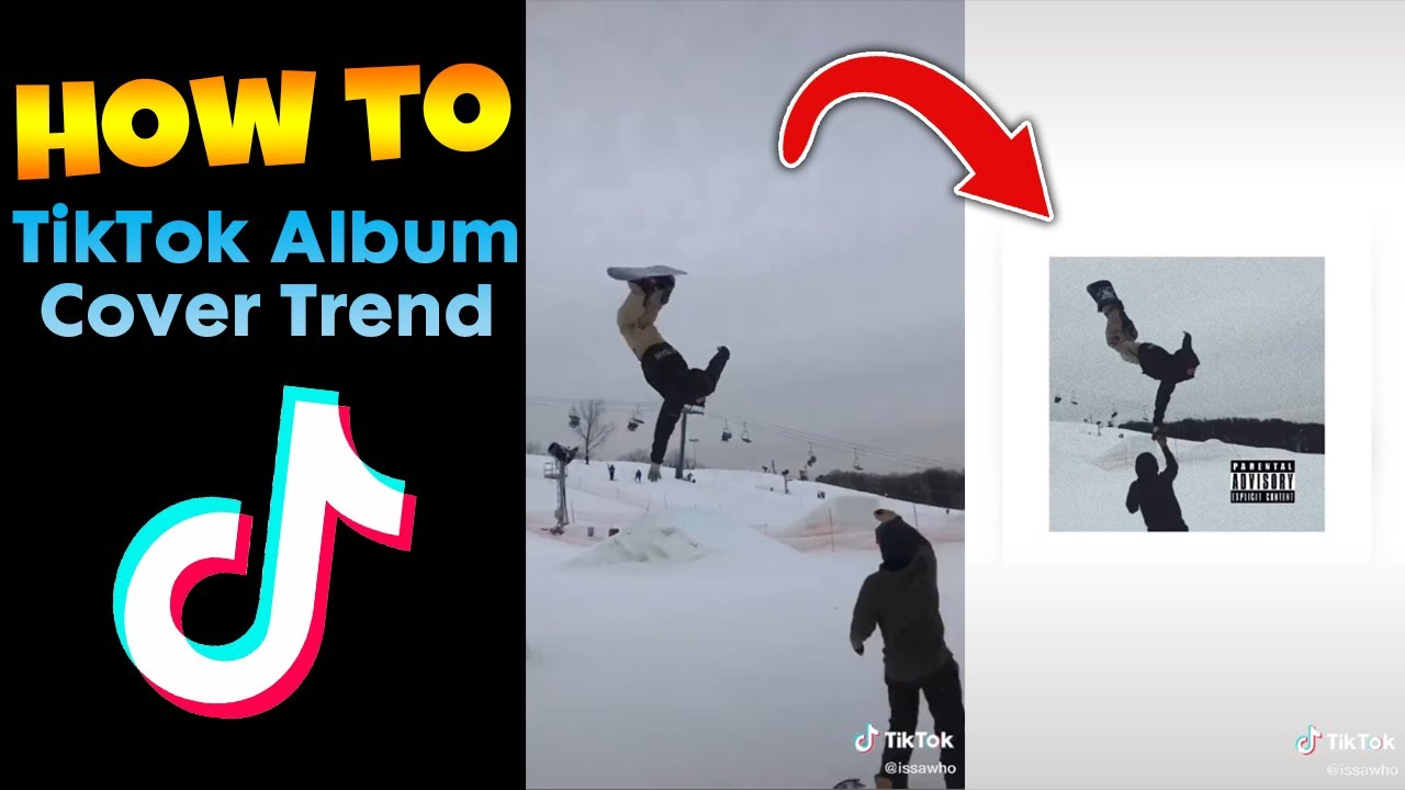 How To Make The Album Cover Trend On Tiktok Phone Only Youtube