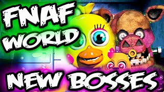 FNAF WORLD GAMEPLAY BOSS BATTLE Images | Five Nights at Freddy's World Gameplay Screens
