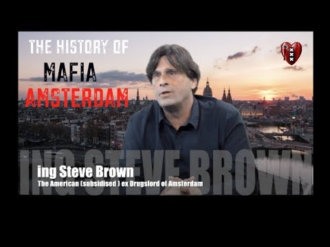 The History of Mafia Amsterdam by ex-Drugslord Steve Brown.( promo Saltotv)