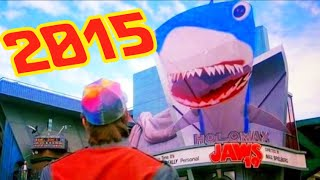 Everything BACK TO THE FUTURE Part 2 Predicted About 2015