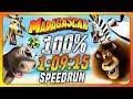 Madagascar - 100% speedrun in 1:09:15