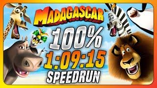 (WR) Madagascar - 100% Speedrun in 1:09:15 (PC)