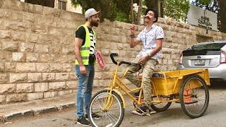 مخالفة سرعة يا بُرغي  😱🚳                     أيهم شلهوب - Ayham Shalhoub