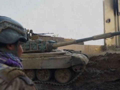 Raw: Iraqi Forces Battle for Mosul University
