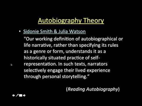 Autobiography Theory